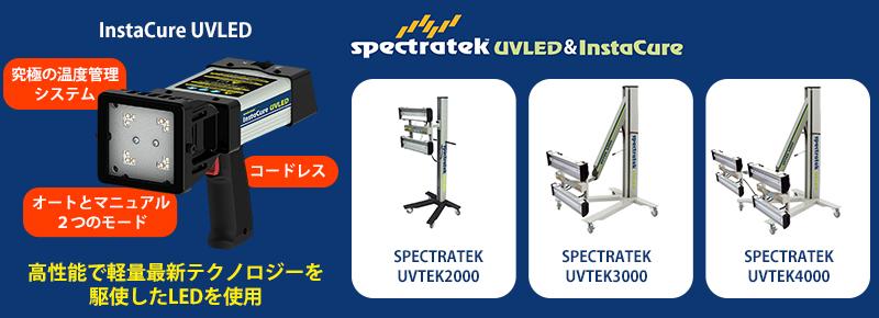 UV照射器(UV照射機) Spectratek InstaCure&UVTEKシリーズ